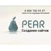 Изготовление сайтов от web - студии PEAR