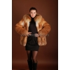 Куртка из рыжей лисы,   арт.  :   5733.   За 74900 рублей.